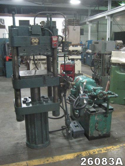 Rubber equipment hot platen press