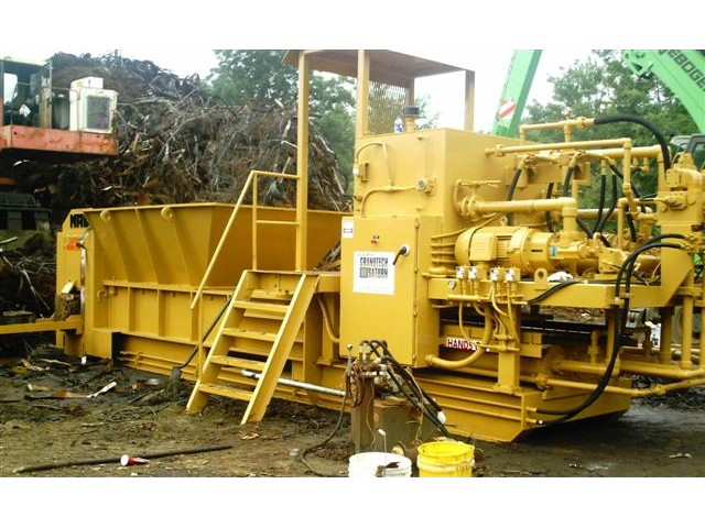 Industrial Metal Baling Machine