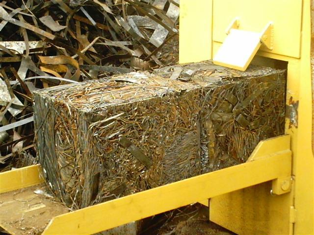 Compacted Metal Bale