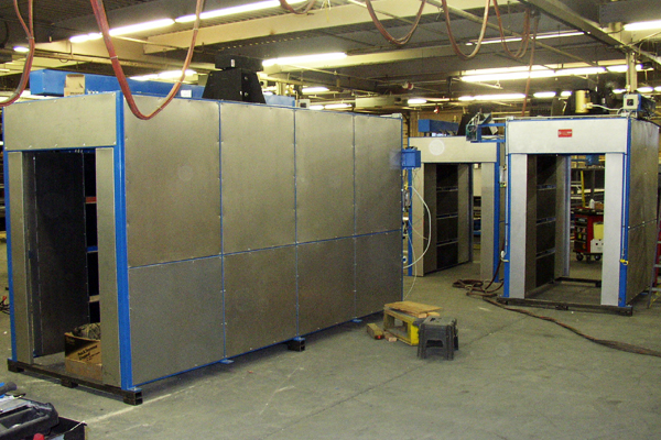Industrial Preheat and Curing Ovens