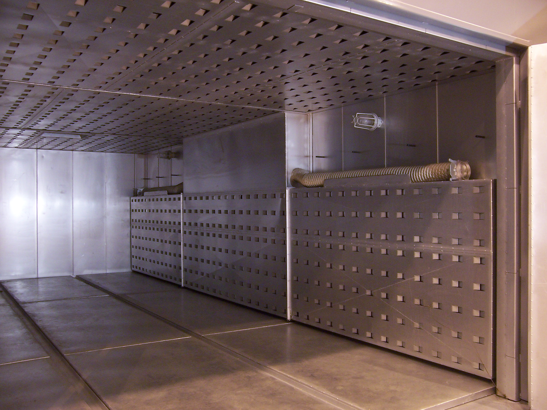 Curing Oven Interior