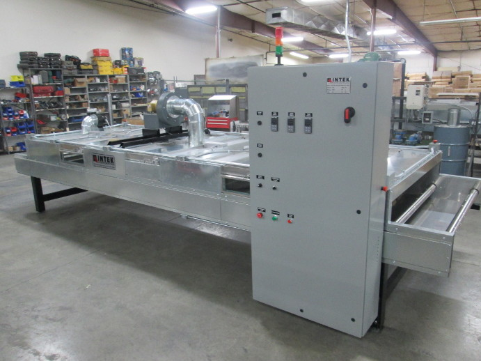 Infrared Tunnel Oven