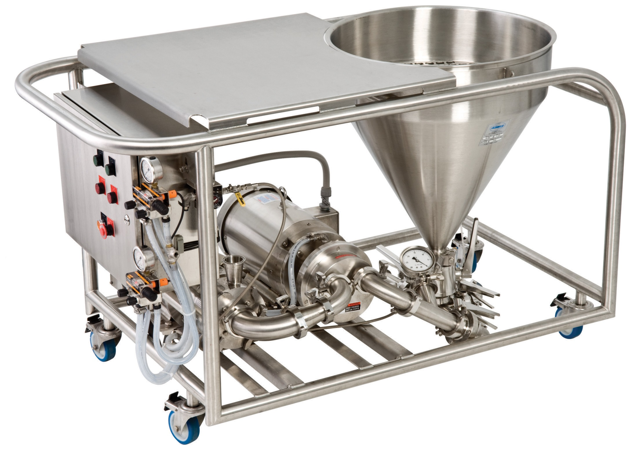 Fast Feed Mixer