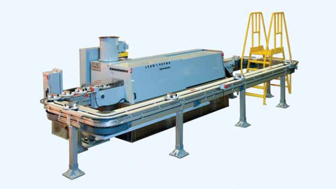 LeanVeyor Automotive Parts Conveyor Washer