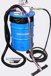 Air Powered Combustible Explosion Proof Dust Vacuums