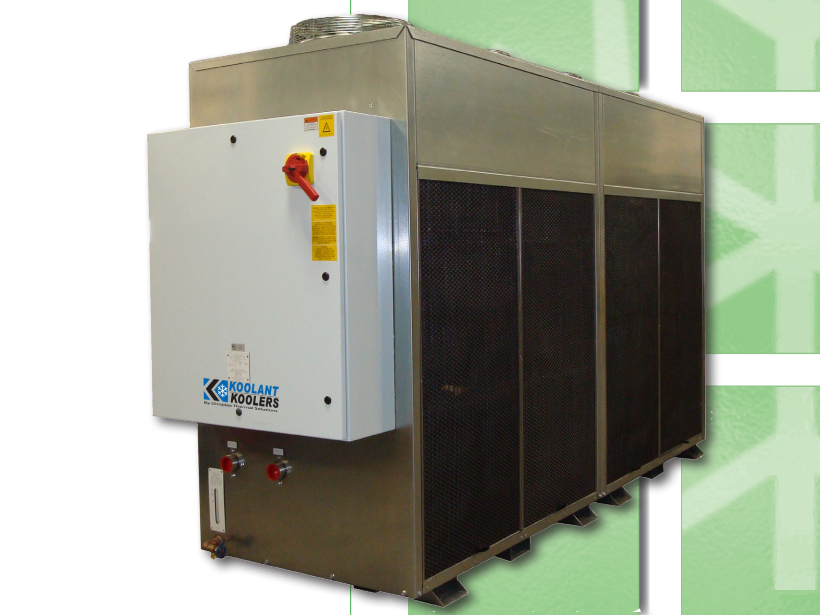 Closed Loop Brazed Plate Food Processing Chiller
