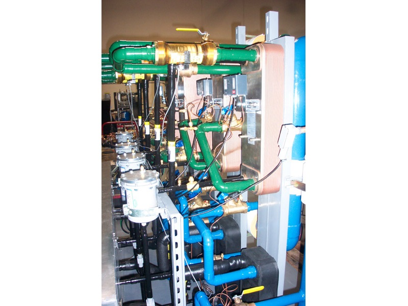 General Contracting Process Scroll Chiller