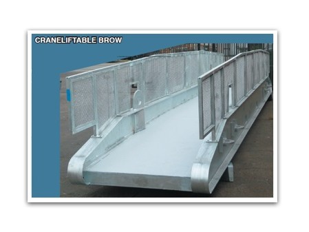 Crane Liftable Mezzanine Brow