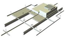 Aluminum Cleanroom T-Grid System