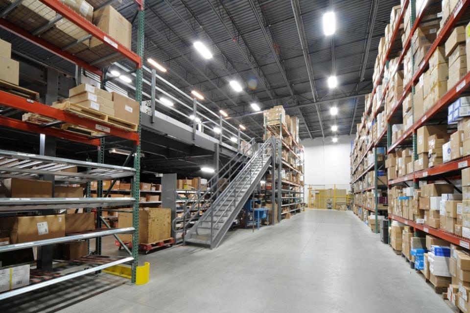 Storage Warehouse Mezzanine