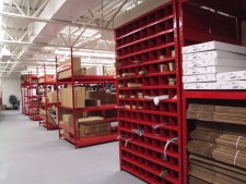 Automotive dealerships warehouse mezzanines