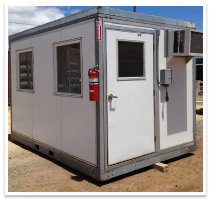 Qube-System Portable Building