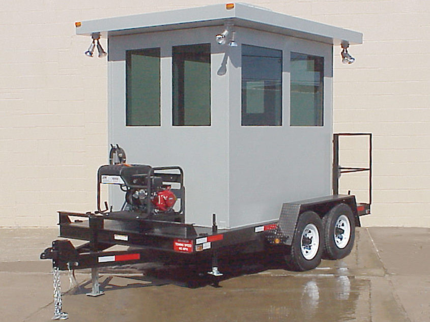 Portable Booth with Trailer