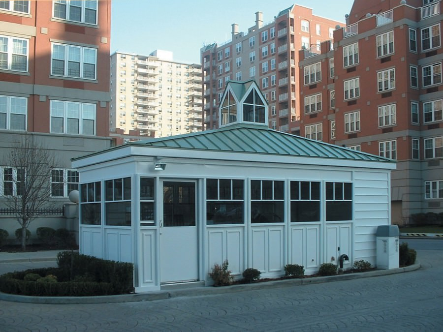Prefabricated Entrance Booth