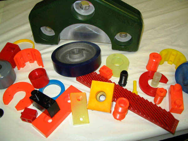 Custom Molded Urethane Parts