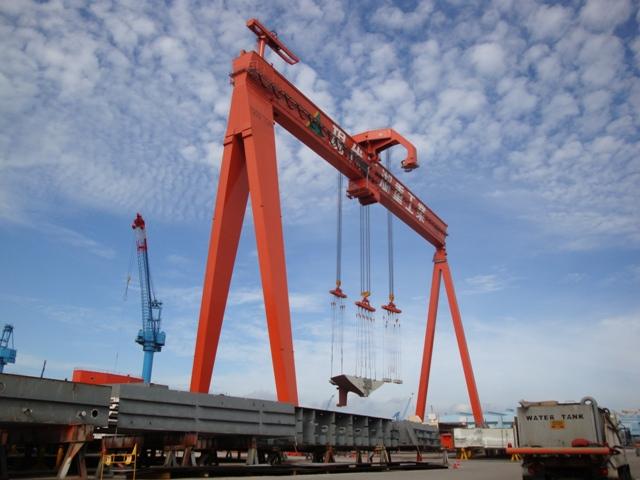 Goliath Shipyard Gantry Crane