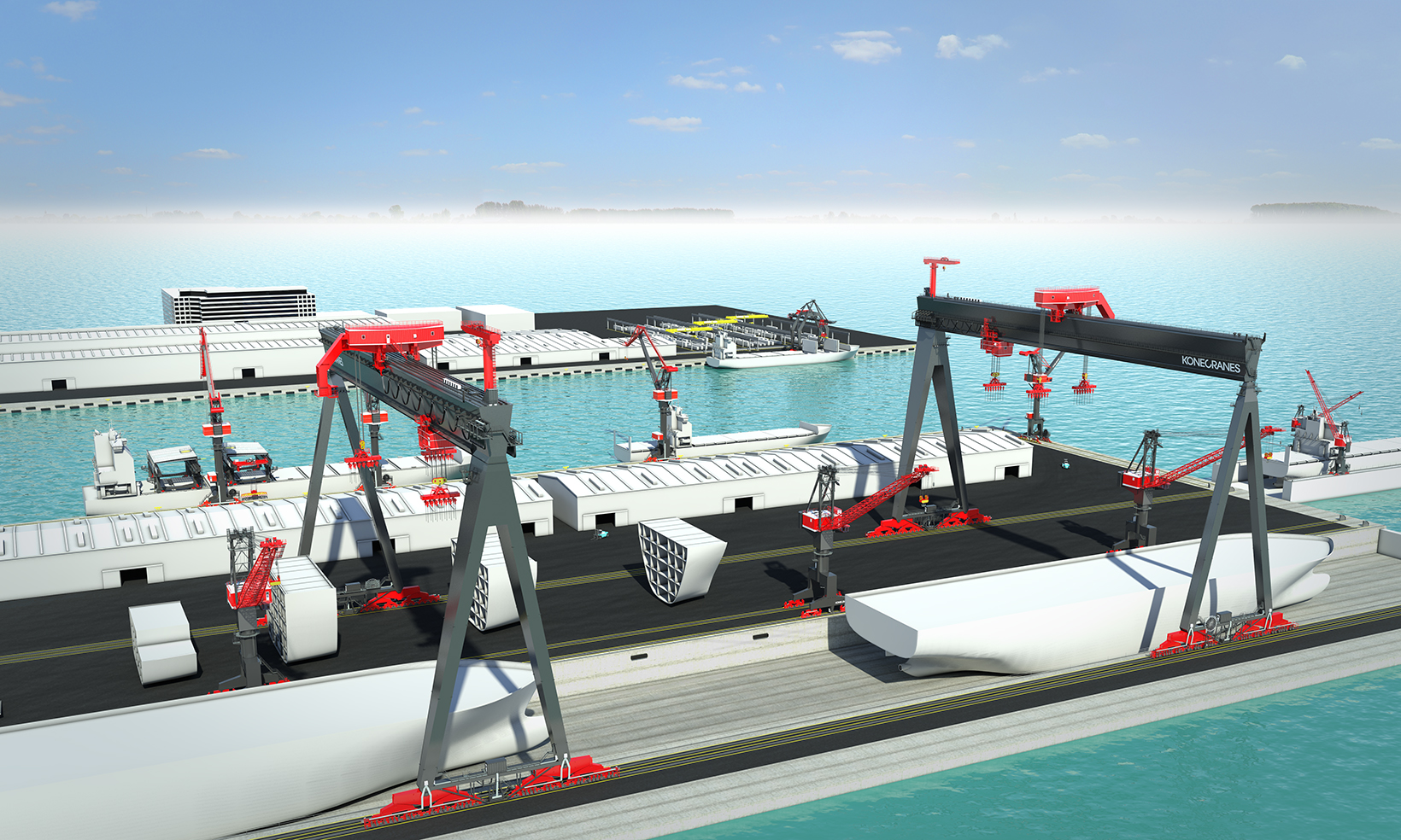 Goliath Shipyard Crane
