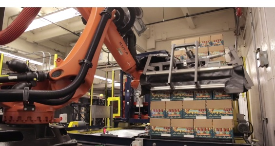 Beer Case Robotic Palletizer