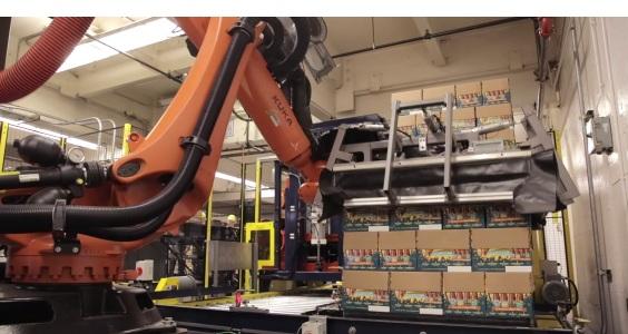 Beer Case Robotic Palletizer