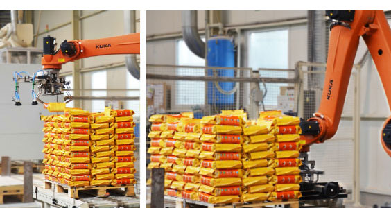 Bag Palletizing Robot