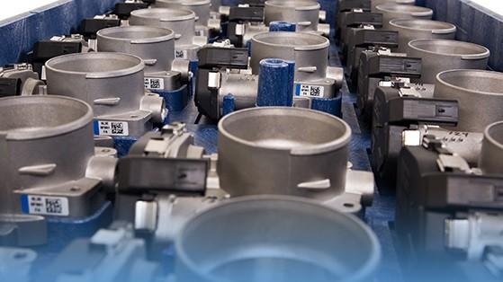 Plastic Pallet for Automotive Components
