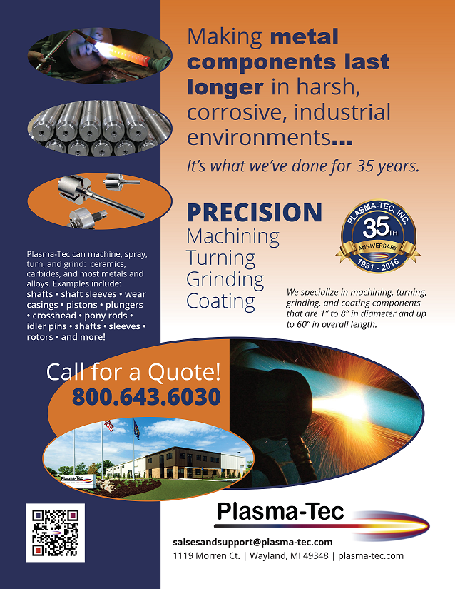 Plasma-Tec Is Celebrating Our 35th Anniversary in 2016