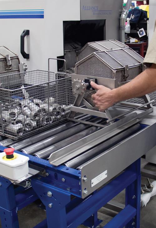 Alliance Manufacturing Solves Part Washing Problem