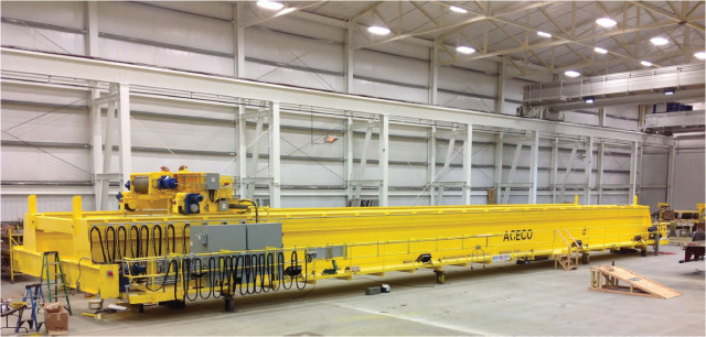 160 Ton Turbine Cranes from American Crane and Equipment