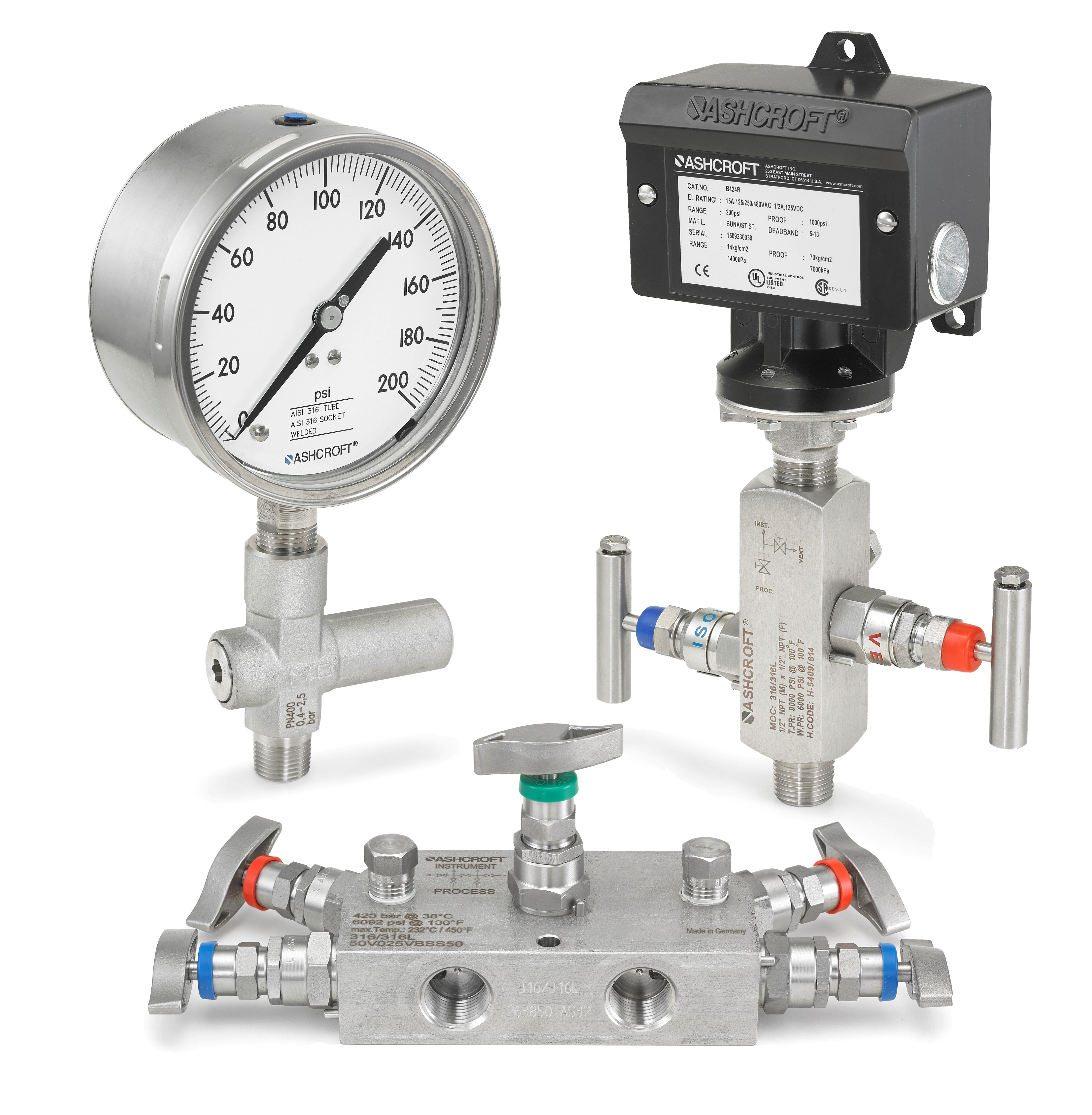 Ashcroft Introduces New Accessories for Pressure Instruments