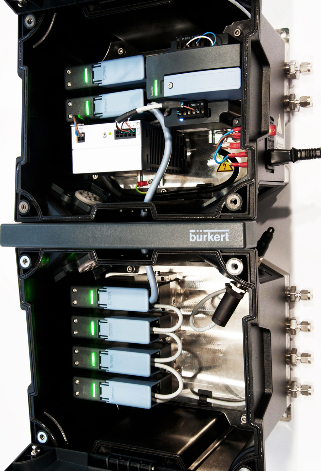 Burkert MultiMFC Gas Box