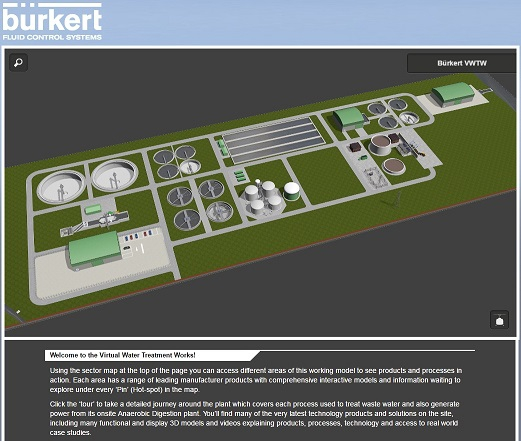 Virtual Water Treatment Works Showcases Products and Solutions
