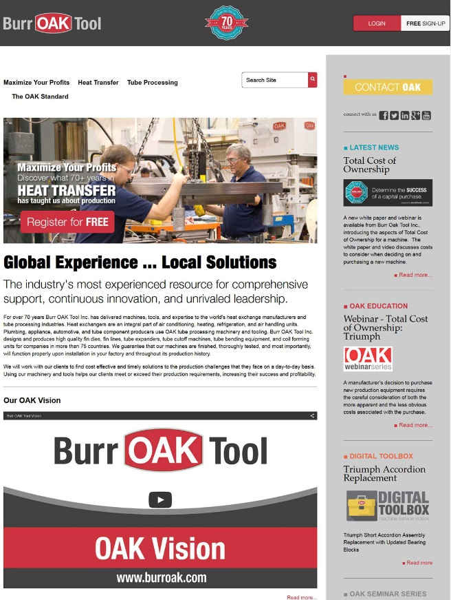 burr oak tool inc.