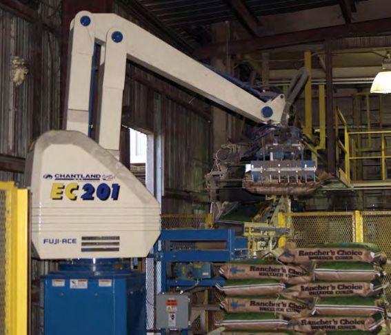 3 New Robotic Palletizers Supplied by Chantland (Case Study)