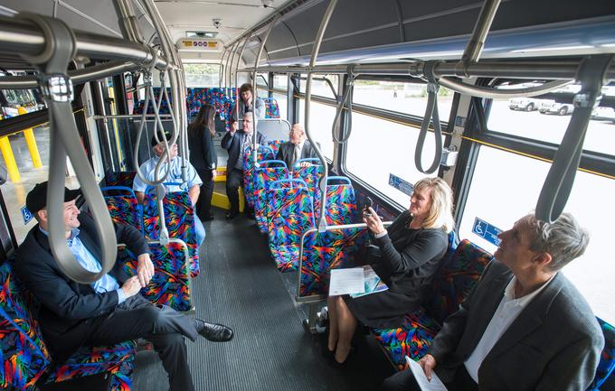 Components Made at Clifford-Jacobs on New MTD Buses