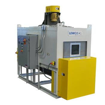 LEWCO Conveyor Oven Preheats Plastic Valve Assemblies