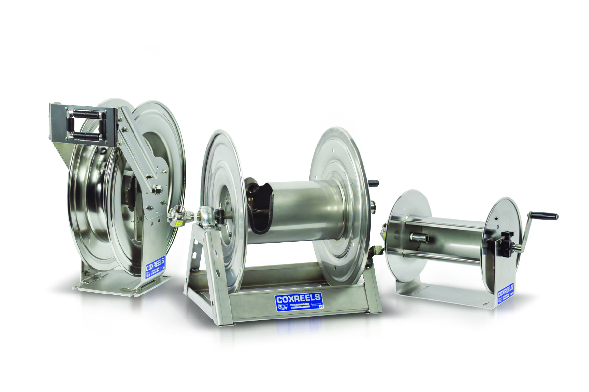 Coxreels Stainless Steel Options