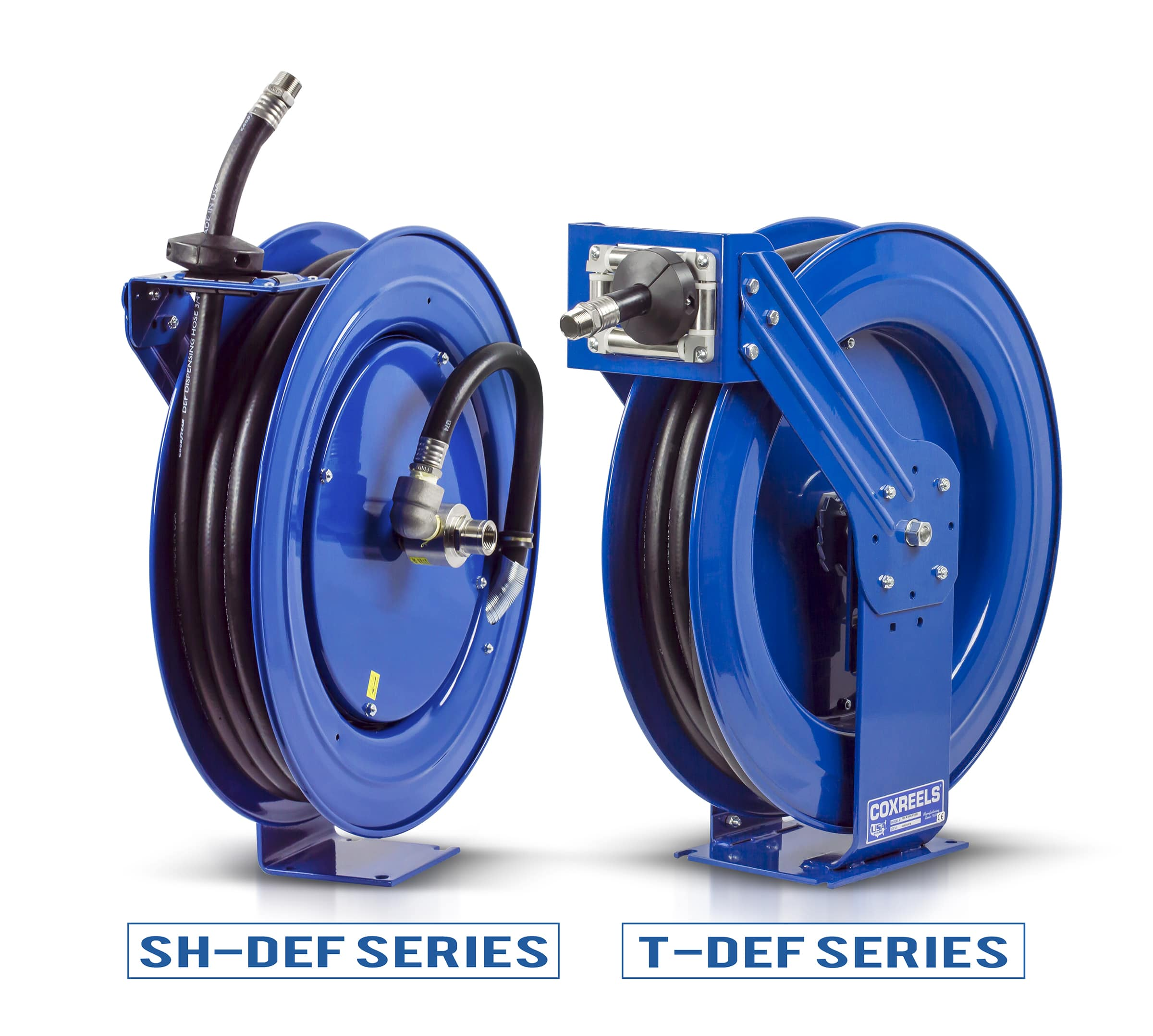 Industry Proven Diesel Exhaust Fluid Hose Reels by Coxreels