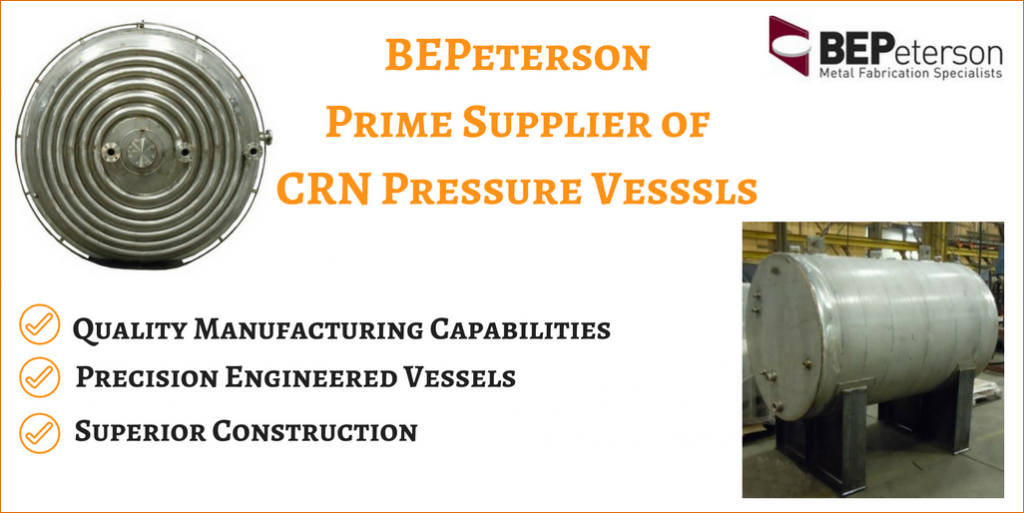 See How BEPeterson Manufactures CRN Pressure Vessels
