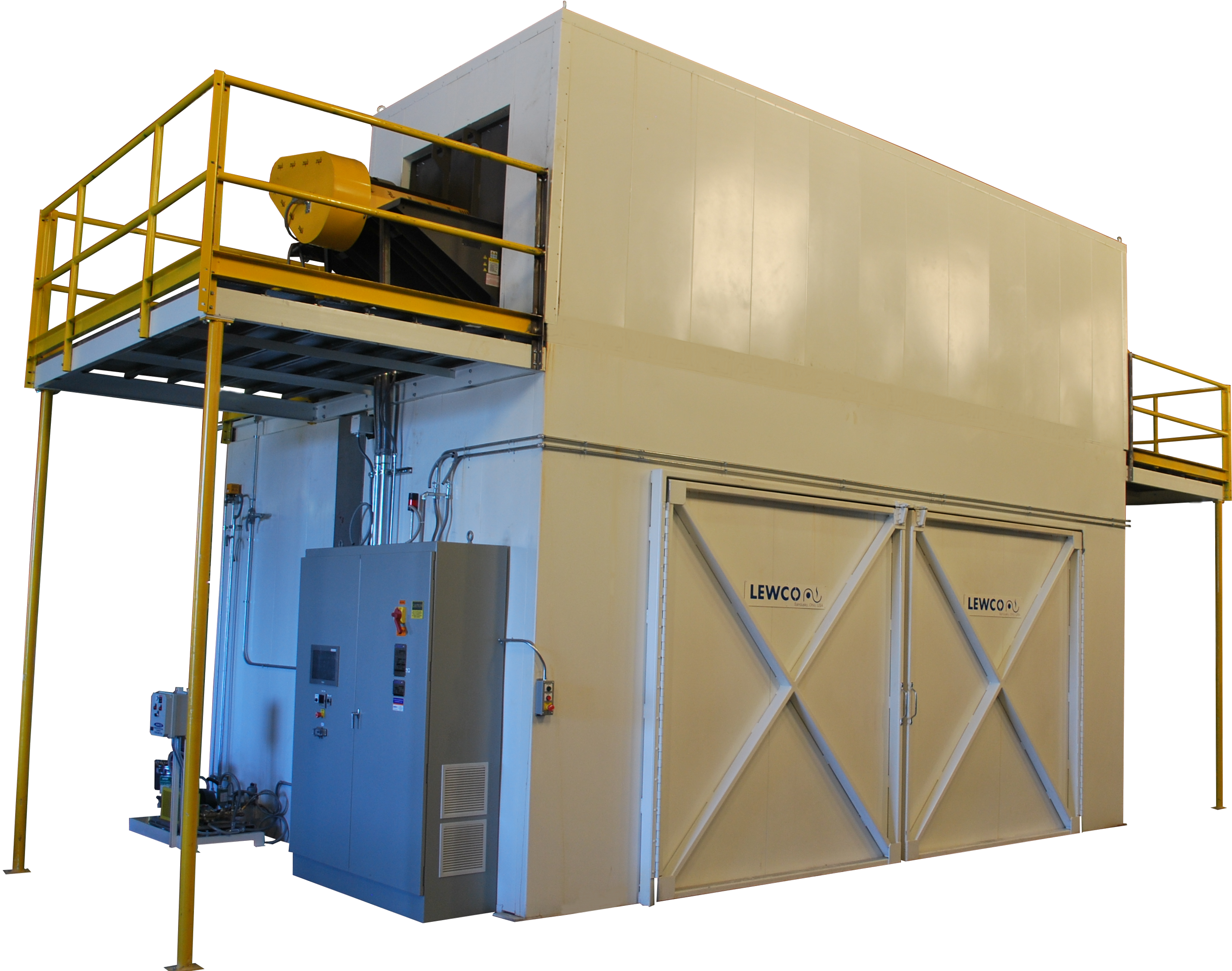 LEWCO Manufactures Custom Oven for Aerospace Company