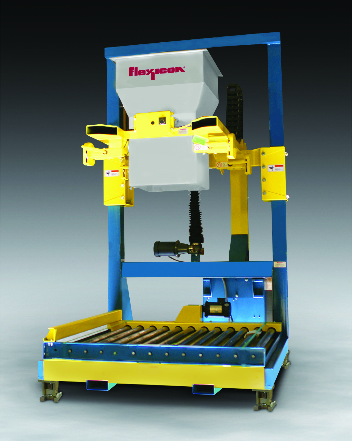 New Wide-Inlet Bulk Bag Filler from Flexicon