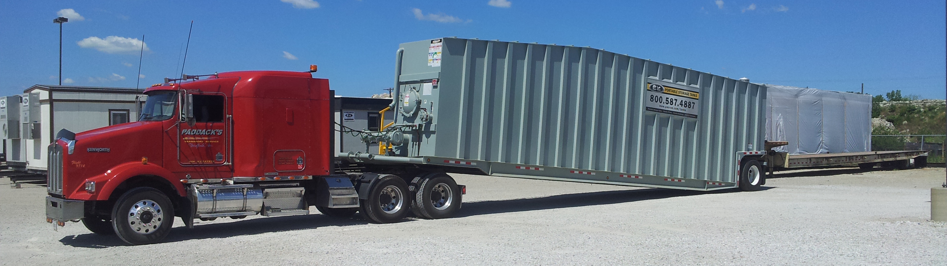 Portable Storage Tank