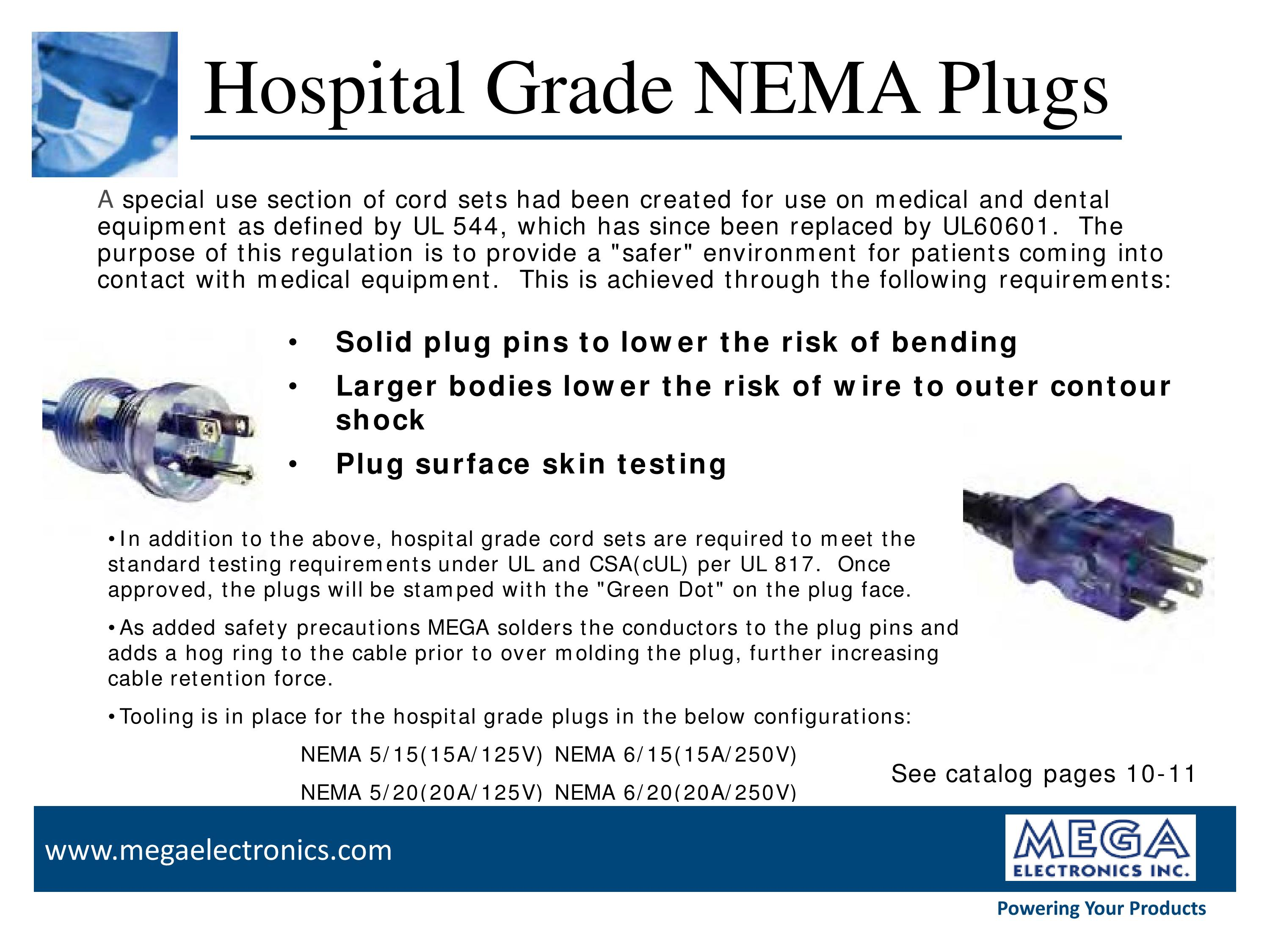Hospital Grade Power Cords - MEGA Electronics, Inc.