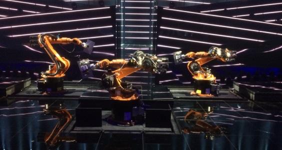 KUKA Robots at Eurovision