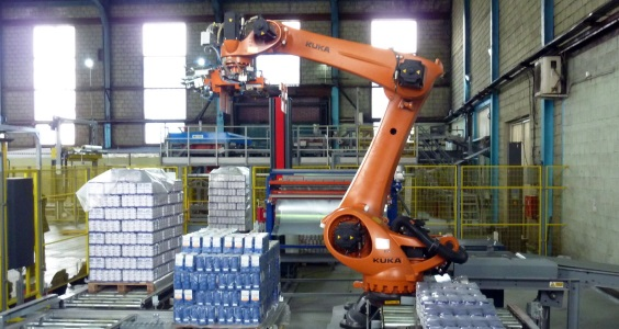 KUKA Robot Palletizer