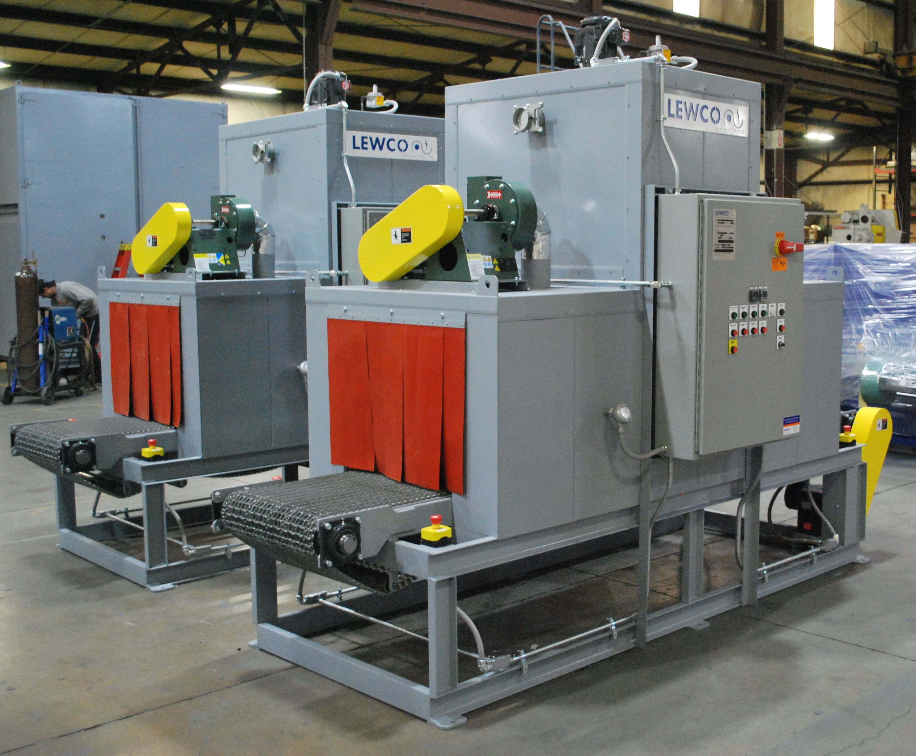 LEWCO Designs Conveyor Ovens to Heat Treat up to 350°F