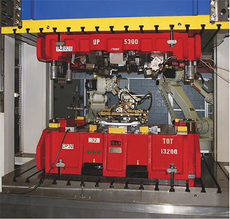 Macrodyne Hydraulic Press 2