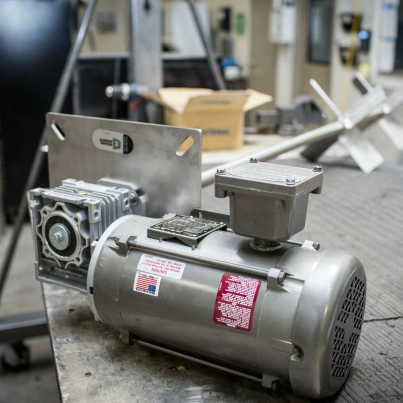 Mixer Direct Motor, Horsepower, and RPMs