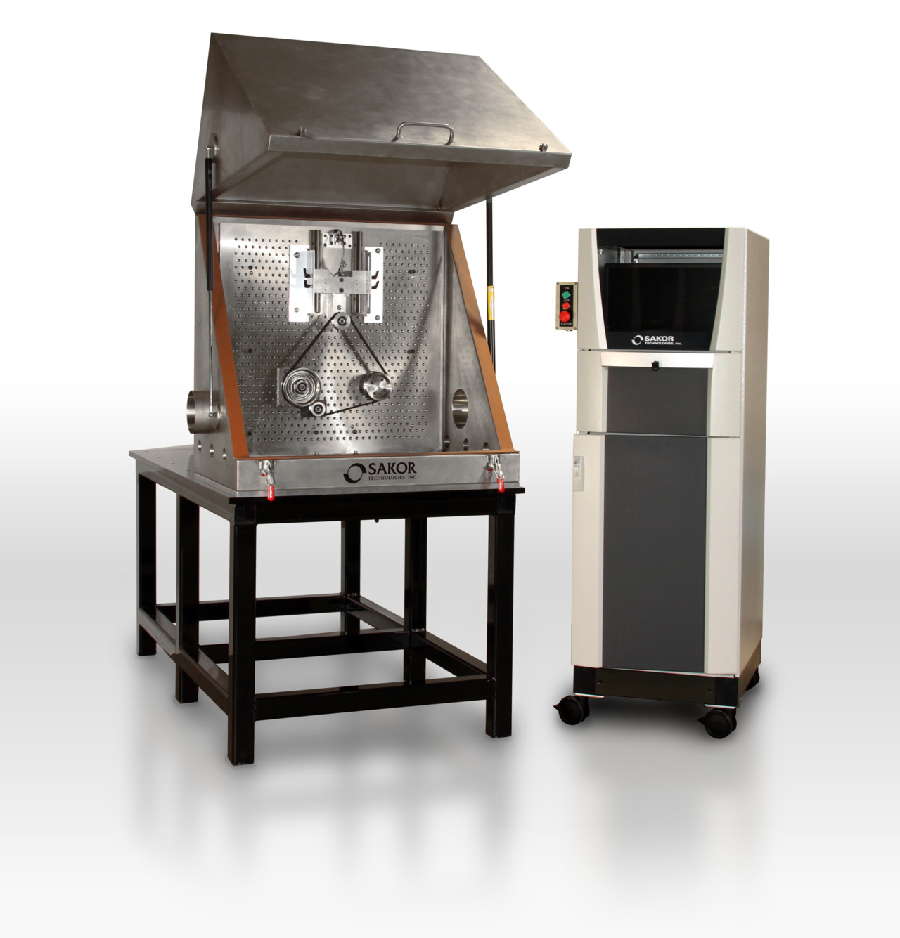SAKOR Introduces Belt Noise Test Stand
