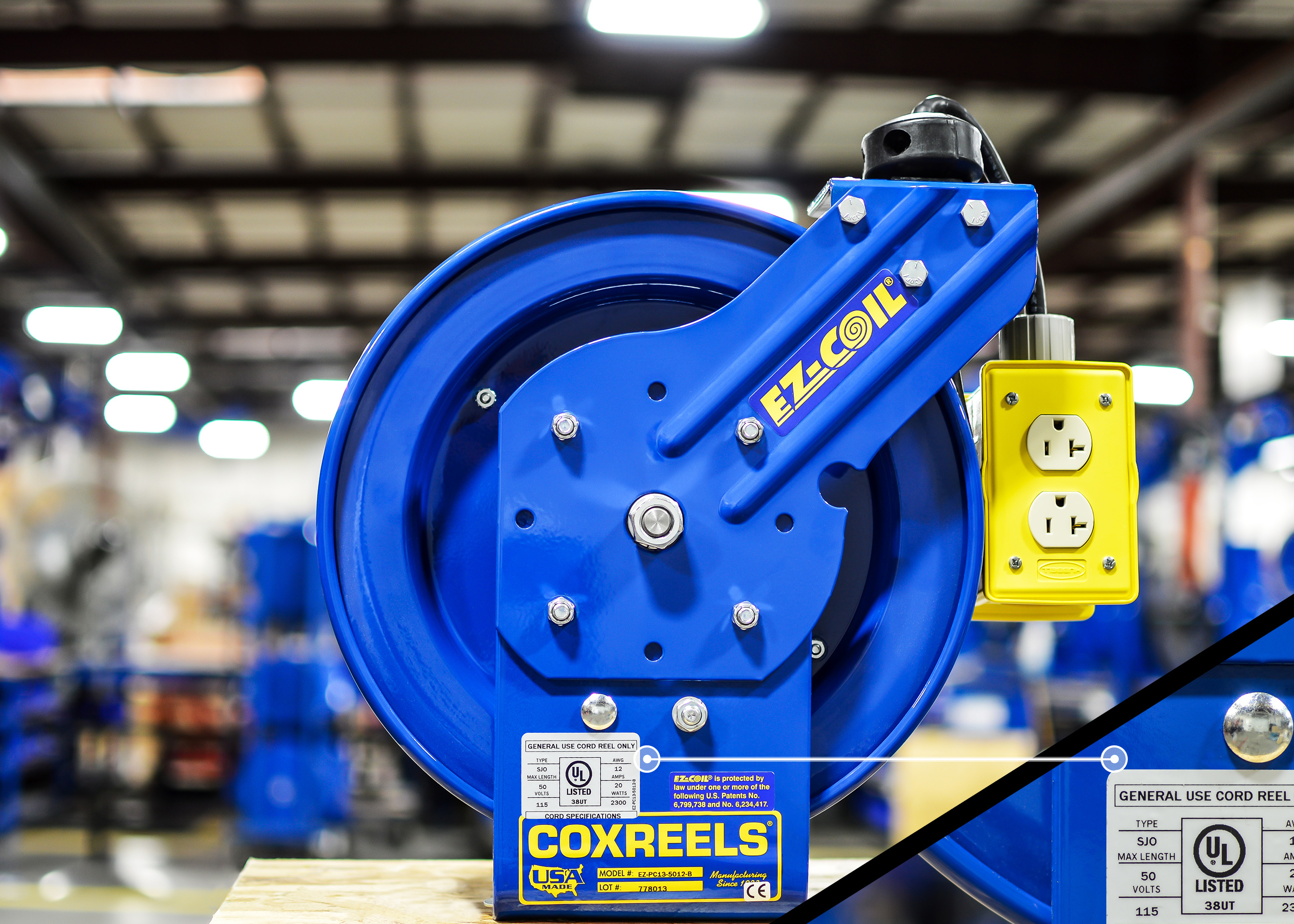 Coxreels Announces Expansion of UL-Approved Products