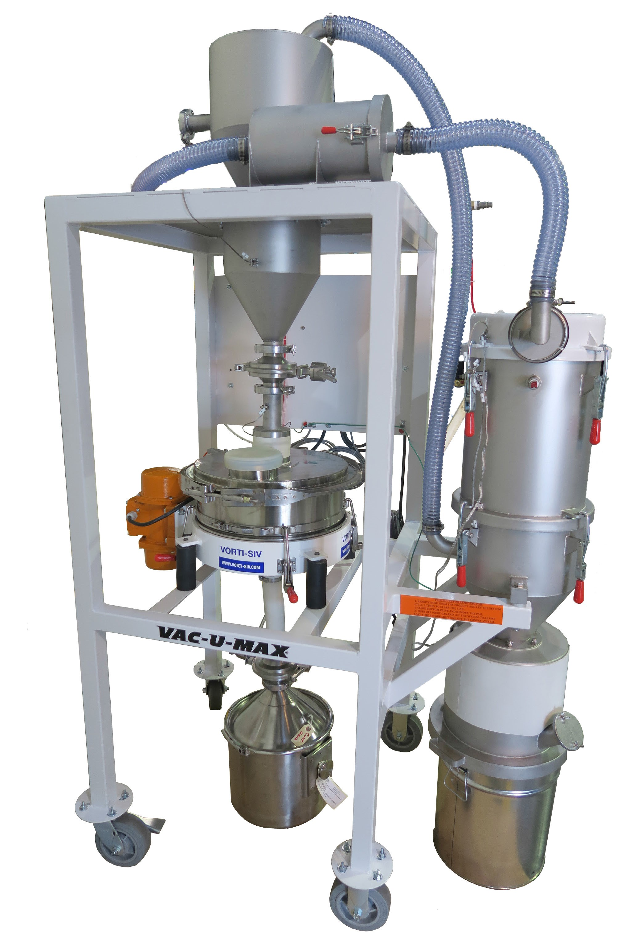 New VAC-U-MAX Metal Powder Recovery System